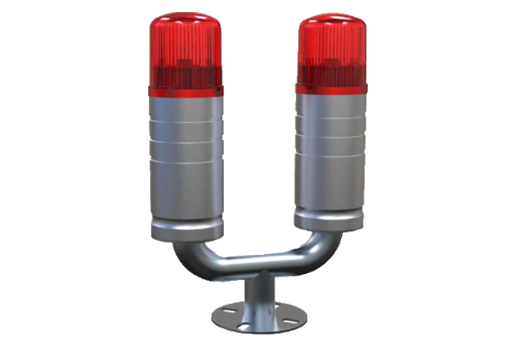 Double obstruction Light 32 cd
