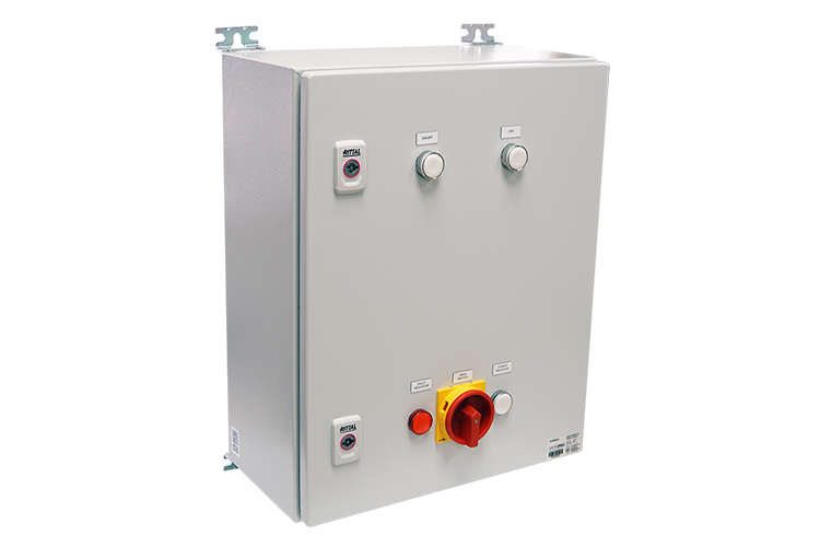 Safe area, Helideck lights - Q-Status light controller