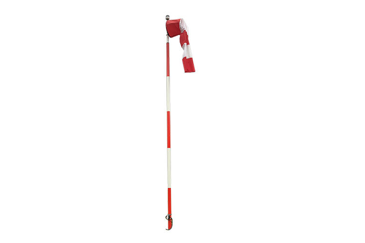 Offshore | Q-wind direction indicator-full frangible L-806, internally lighted, red/white